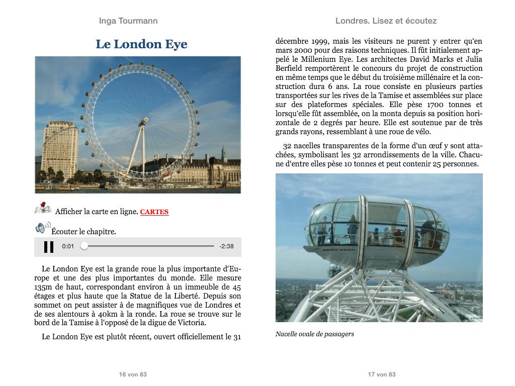 Londres. Lisez et écoutez