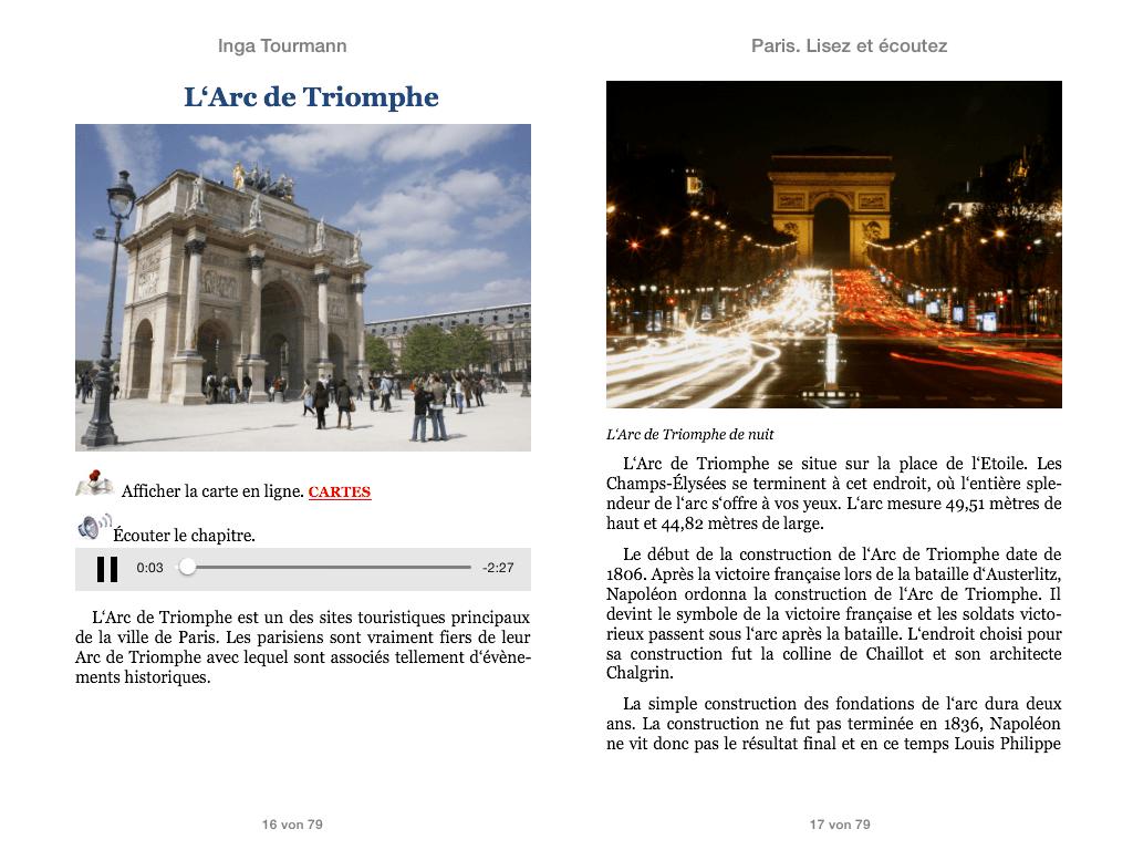 Paris. Lisez et écoutez