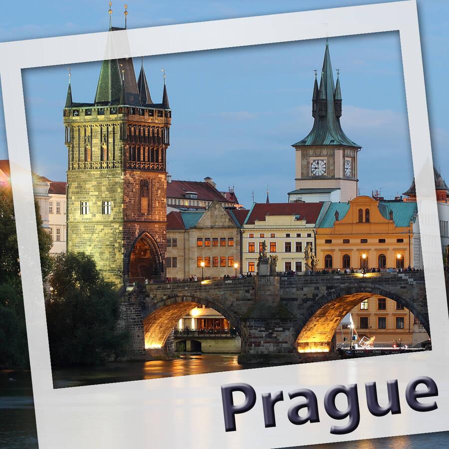 Prague. L'audioguide