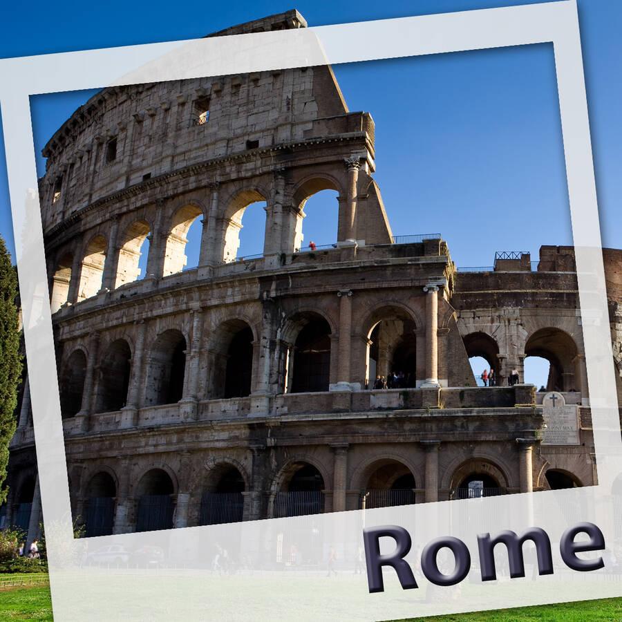 Rome. L'audioguide