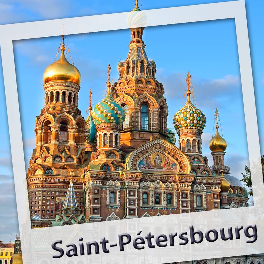Saint Petersbourg. L'audioguide